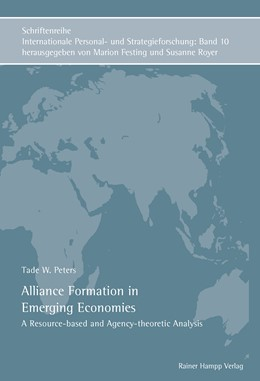 Abbildung von Peters | Alliance Formation in Emerging Economies | 1. Auflage | 2012 | A Resource-based and Agency-th...