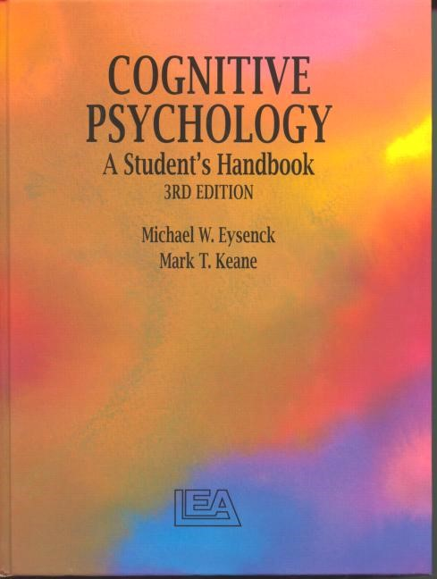 Abbildung von Cognitive Psychology | 3rd edition | 1995