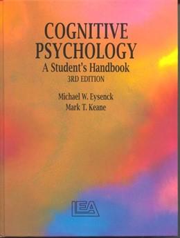 Abbildung von Cognitive Psychology | 3rd edition | 1995 | A Student's Handbook