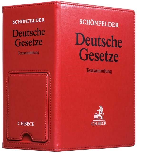 Deutsche Gesetze • Premium-Ordner *Ersatzordner (leer) | Schönfelder (Cover)