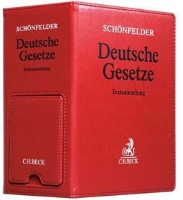 Abbildung von Schönfelder | Deutsche Gesetze • Premium-Ordner * • Ersatzordner (leer) | | Hauptordner 86 mm