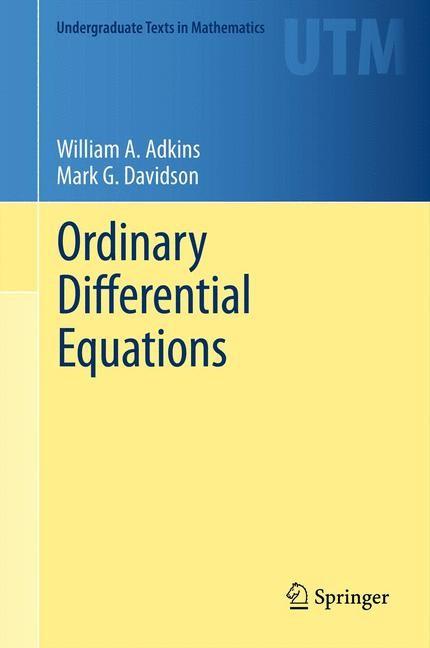 Abbildung von Adkins / Davidson   Ordinary Differential Equations   2012