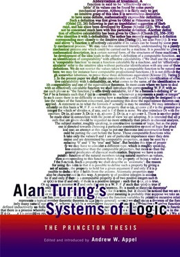 Abbildung von Appel | Alan Turing's Systems of Logic | 2012 | The Princeton Thesis