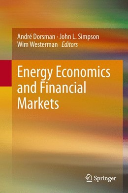 Abbildung von Dorsman / Simpson / Westerman | Energy Economics and Financial Markets | 2012