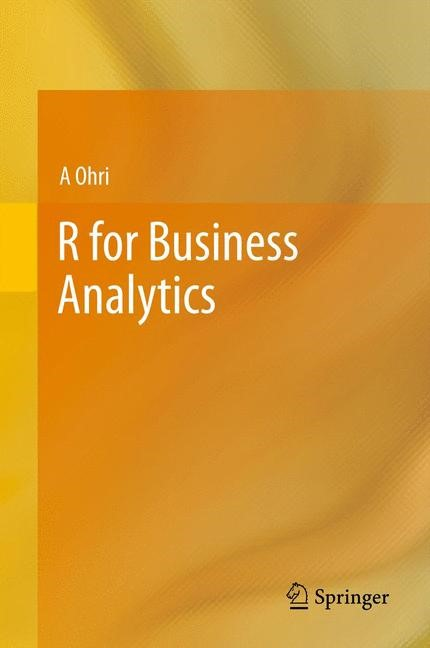 R for Business Analytics | Ohri, 2012 | Buch (Cover)