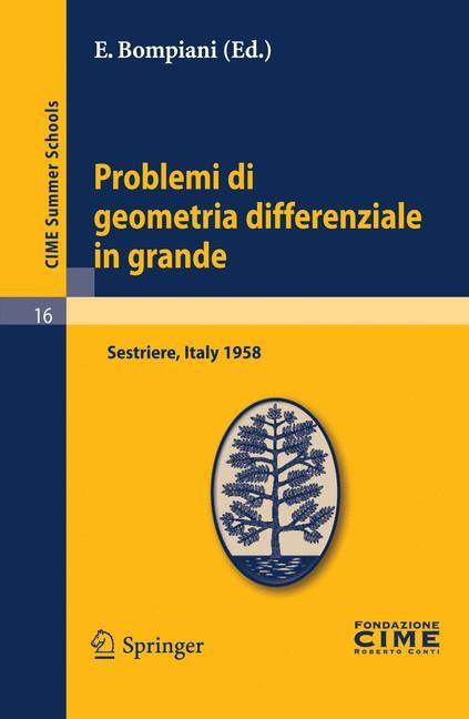 Abbildung von Bompiani | Problemi di geometria differenziale in grande | Reprint | 2011