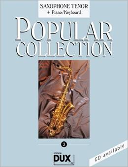Abbildung von Himmer   Popular Collection 3. Saxophone Tenor + Piano / Keyboard