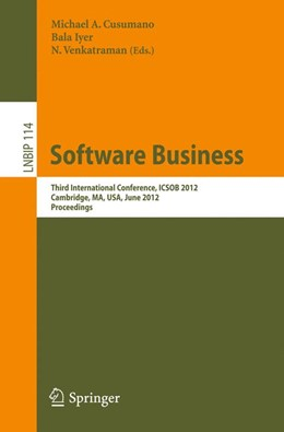 Abbildung von Cusumano / Iyer / Venkatraman | Software Business | 2012 | Third International Conference... | 114