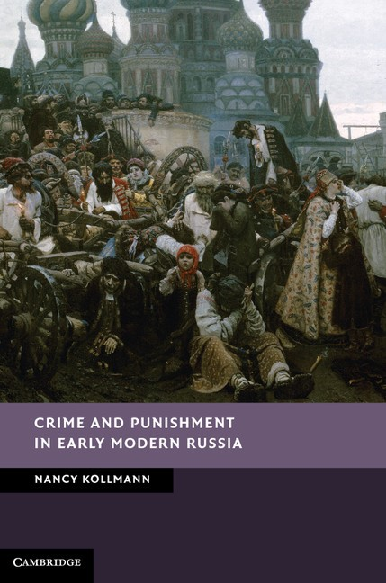 Abbildung von Kollmann | Crime and Punishment in Early Modern Russia | 2012