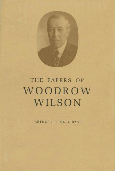 Abbildung von Wilson / Link / Little | The Papers of Woodrow Wilson, Volume 67: December 24, 1920-April 7, 1922 | 1992