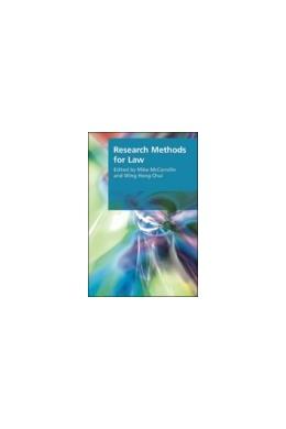 Abbildung von McConville / Chui | Research Methods for Law | 1. Auflage | 2007 | beck-shop.de