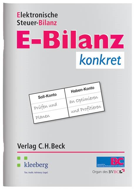E-Bilanz konkret, 2012 | Buch (Cover)
