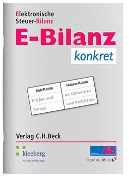 Abbildung von E-Bilanz konkret | 2012 | Elektronische Steuerbilanz