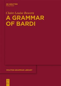 Abbildung von Bowern | A Grammar of Bardi | 2012 | 57