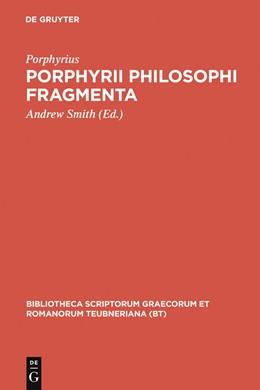 Abbildung von Porphyrius / Smith | Porphyrii Philosophi fragmenta | 1993 | Fragmenta Arabica David Wasser...