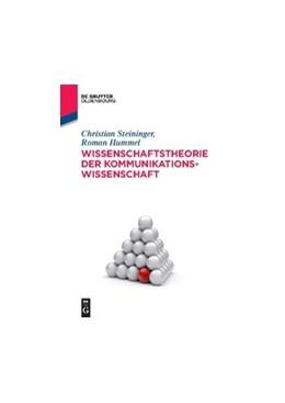 Abbildung von Steininger / Hummel | Wissenschaftstheorie der Kommunikationswissenschaft | 2015