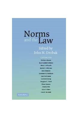 Abbildung von Drobak   Norms and the Law   1. Auflage   2006   beck-shop.de