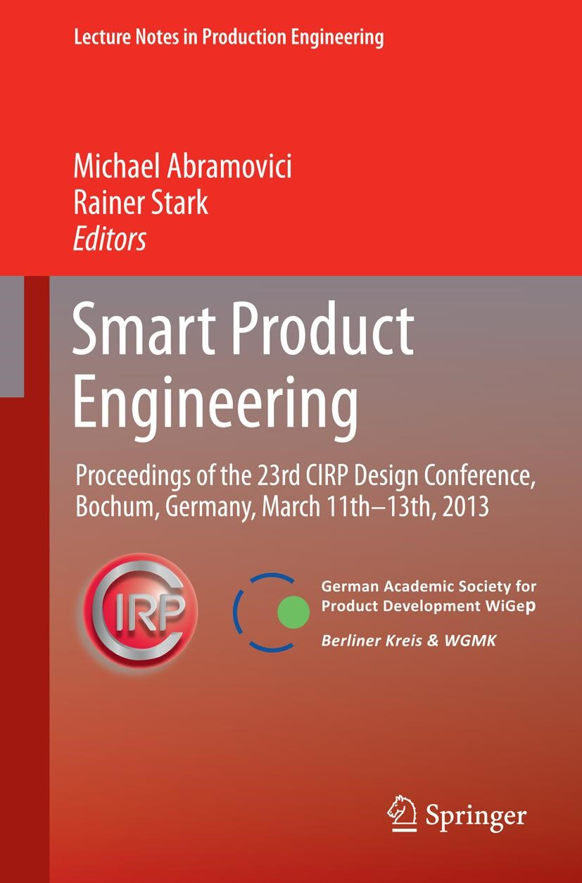 Smart Product Engineering | Abramovici / Stark, 2013 | Buch (Cover)