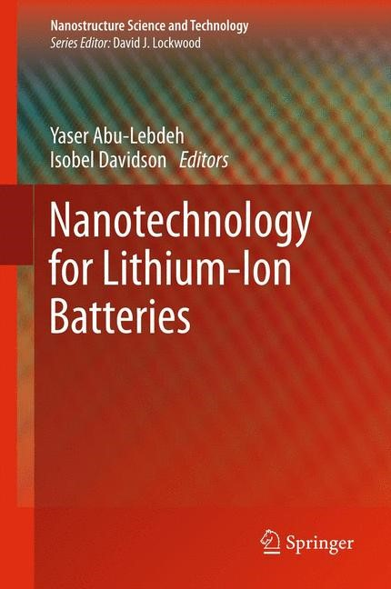 Nanotechnology for Lithium-Ion Batteries | Abu-Lebdeh / Davidson, 2012 | Buch (Cover)