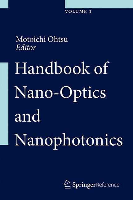 Handbook of Nano-Optics and Nanophotonics | Ohtsu, 2013 | Buch (Cover)