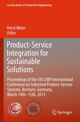 Abbildung von Meier   Product-Service Integration for Sustainable Solutions   2013   Proceedings of the 5th CIRP In...