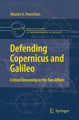 Abbildung von Finocchiaro | Defending Copernicus and Galileo | 2012 | Critical Reasoning in the Two ... | 280