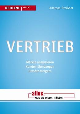 Abbildung von Preißner   Vertrieb   2013   Märkte analysieren - Kunden üb...