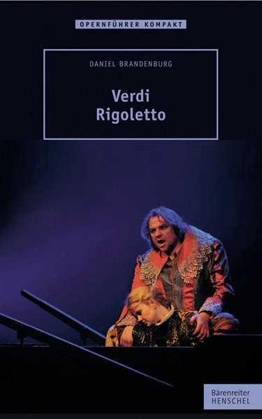 Verdi - Rigoletto | Brandenburg, 2013 | Buch (Cover)