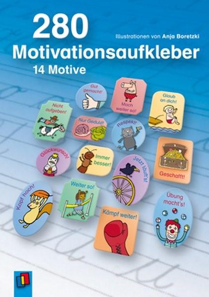 Motivationsaufkleber: 280 Motivationsaufkleber, 2012 (Cover)