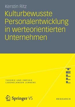 Abbildung von Ritz   Kulturbewusste Personalentwicklung in werteorientierten Unternehmen   2012