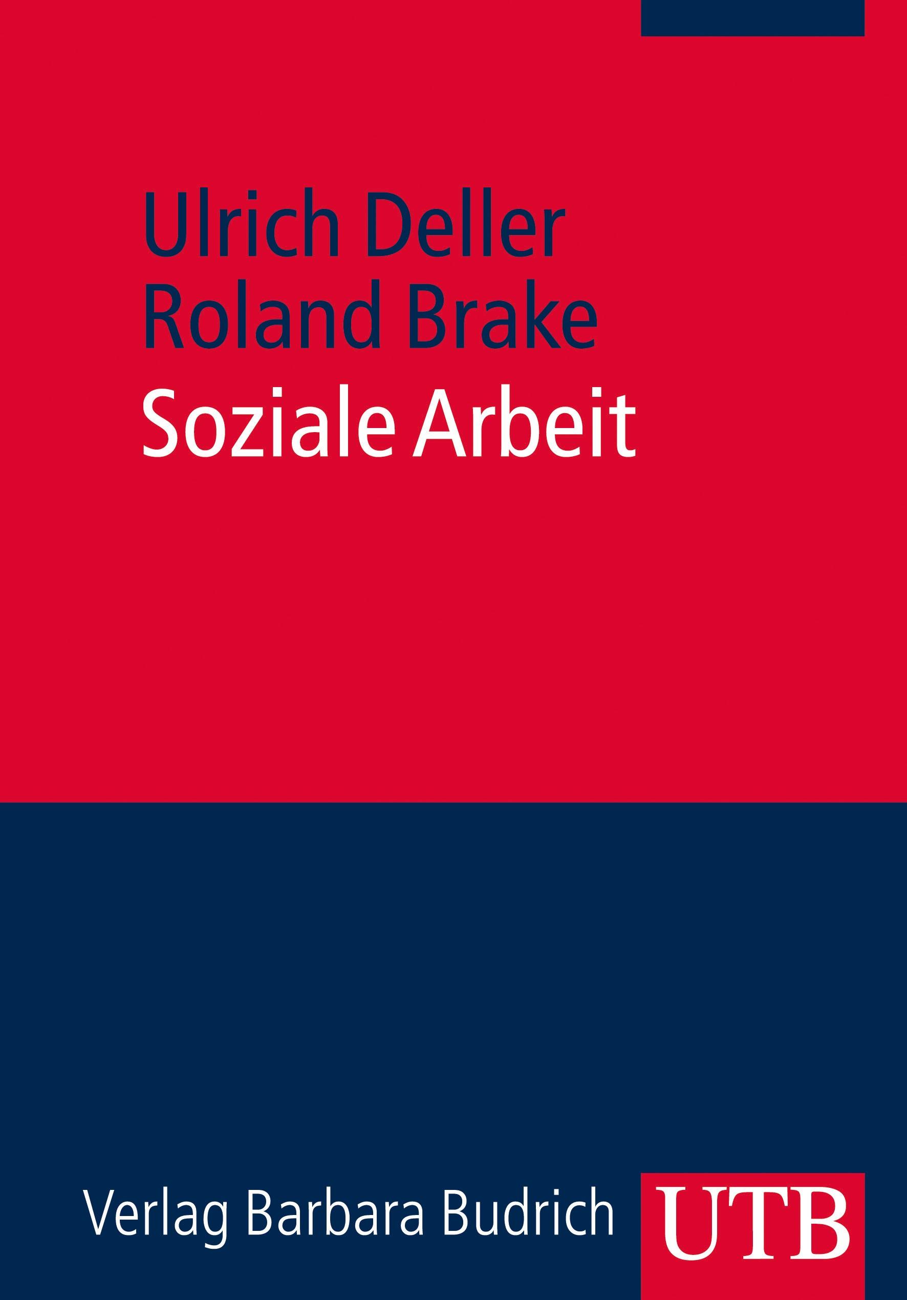 Soziale Arbeit | Brake / Deller | 1. Auflage 2014, 2014 (Cover)