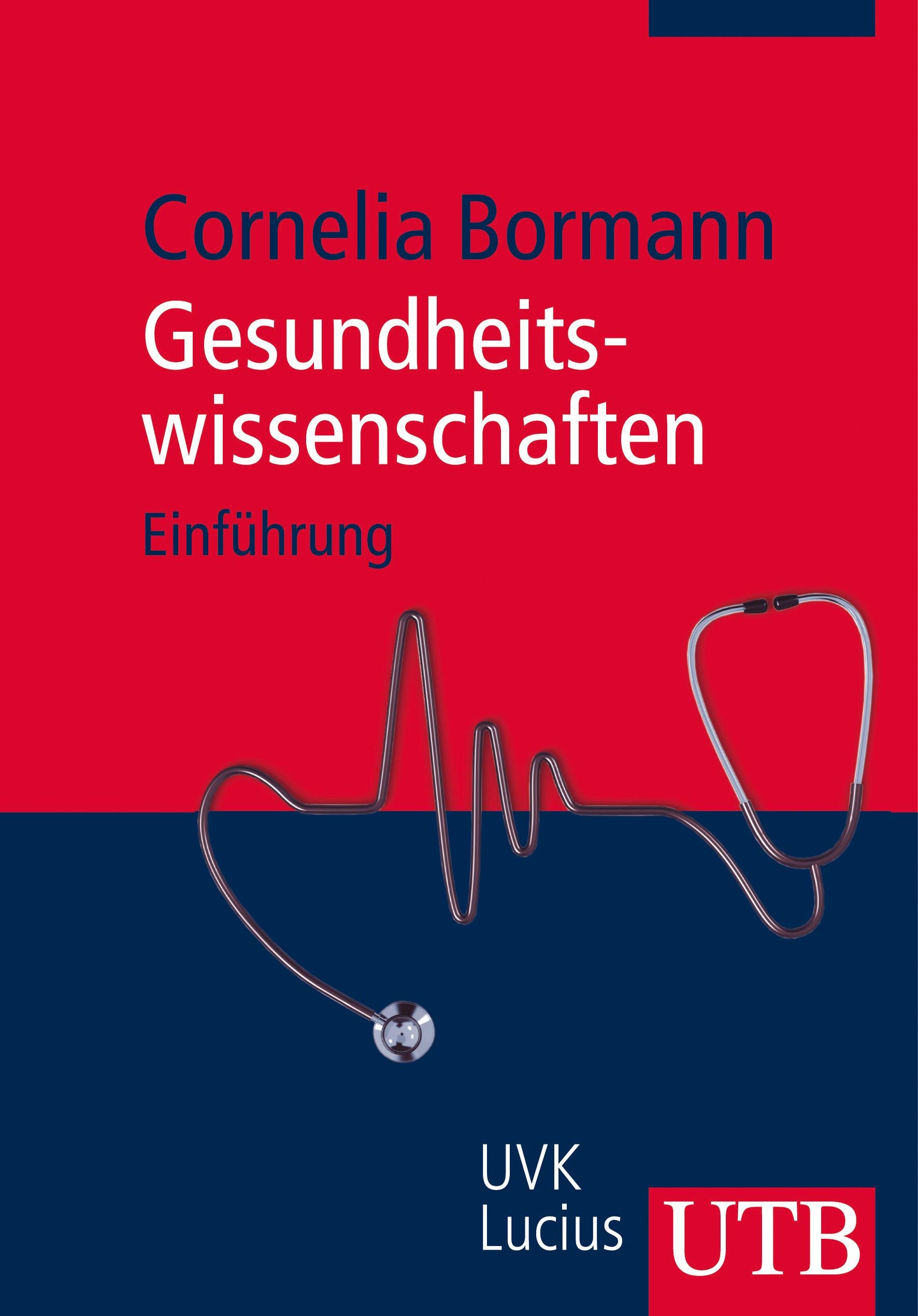 Gesundheitswissenschaften   Bormann, 2012   Buch (Cover)
