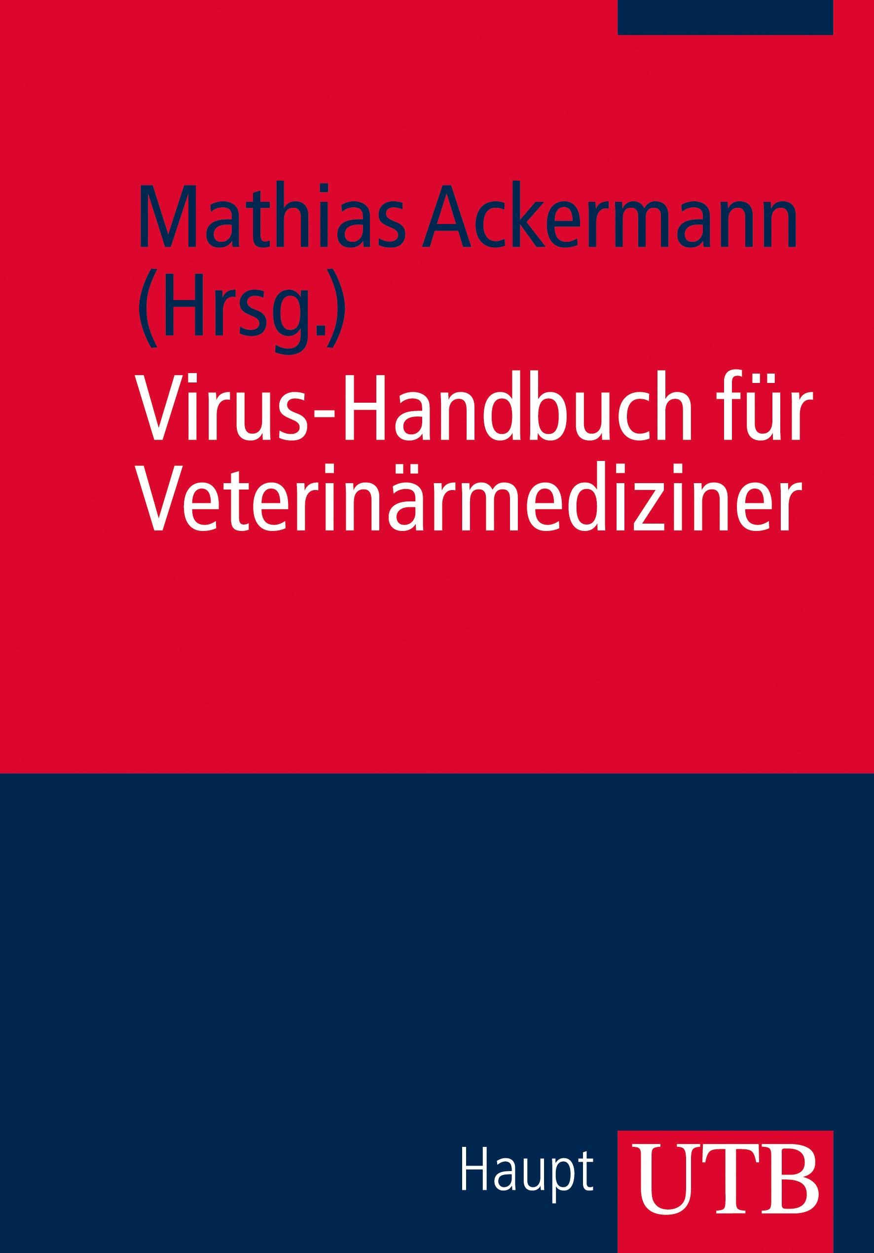 Abbildung von Ackermann | Virus-Handbuch für Veterinärmediziner | 2013