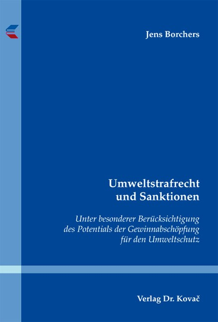 Umweltstrafrecht und Sanktionen | Borchers, 2012 | Buch (Cover)