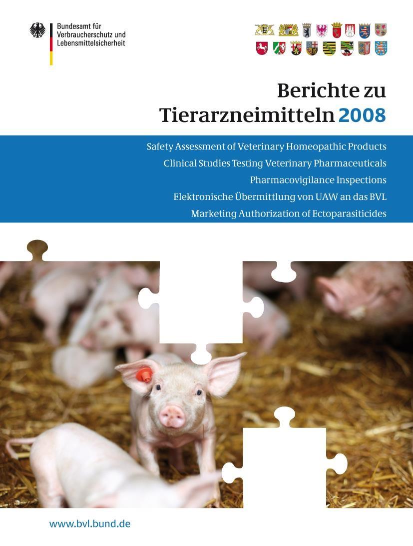 Berichte zu Tierarzneimitteln 2008 | Brandt | 1st Edition., 2009 | Buch (Cover)