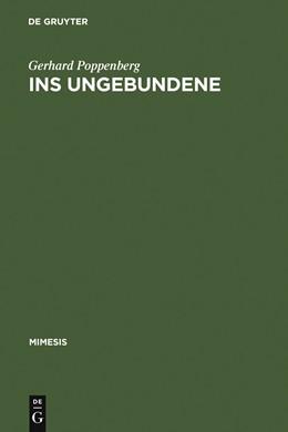 Abbildung von Poppenberg | Ins Ungebundene | 1994 | Über Literatur nach Blanchot | 20
