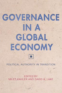 Abbildung von Kahler / Lake   Governance in a Global Economy   2003   Political Authority in Transit...