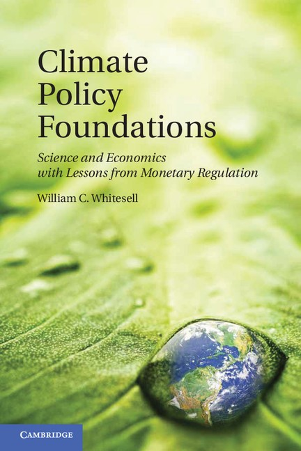 Abbildung von Whitesell | Climate Policy Foundations | 2012