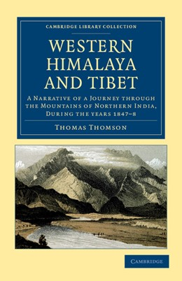Abbildung von Thomson | Western Himalaya and Tibet | 2012 | A Narrative of a Journey throu...