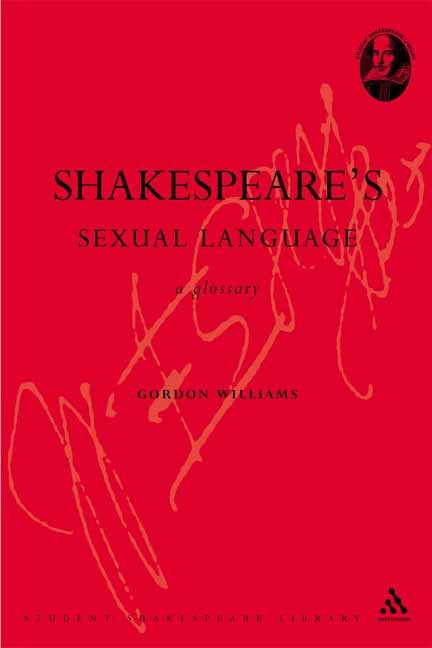 Abbildung von Williams | Shakespeare's Sexual Language | 2006