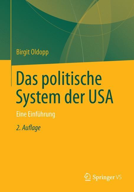 Das politische System der USA   Oldopp   2. Aufl. 2013, 2014   Buch (Cover)