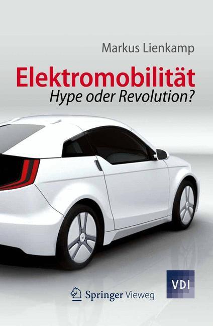 Elektromobilität | Lienkamp, 2012 | Buch (Cover)