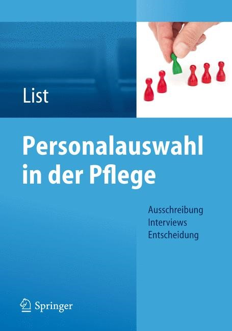 Personalauswahl in der Pflege   List, 2012   Buch (Cover)