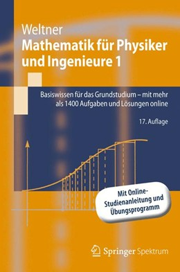 Abbildung von Weltner | Mathematik für Physiker und Ingenieure 1 | 2012 | Basiswissen für das Grundstudi...