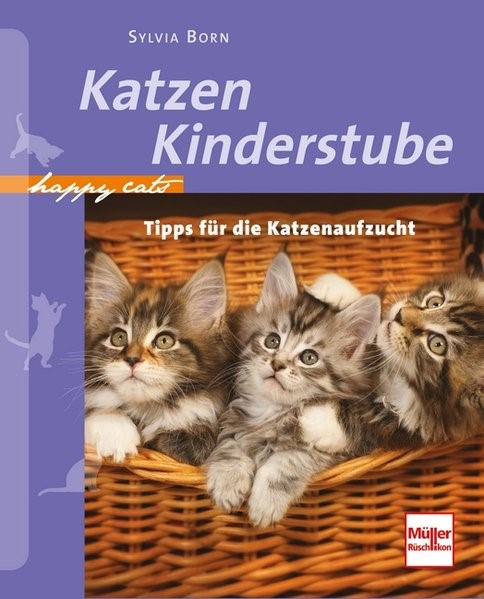 Happy Cats: Katzenkinderstube | Born, 2012 | Buch (Cover)