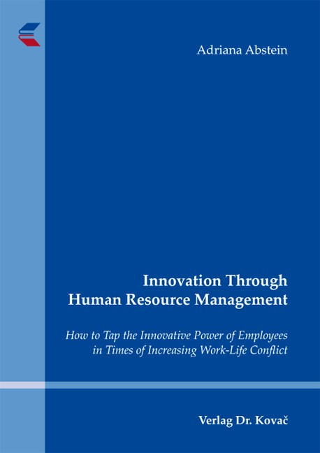 Abbildung von Abstein | Innovation Through Human Resource Management | 2012