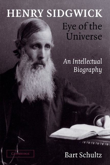 Abbildung von Schultz | Henry Sidgwick - Eye of the Universe | 2012