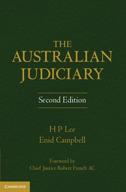 Abbildung von Campbell / Lee   The Australian Judiciary   2012