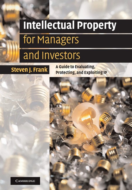 Abbildung von Frank | Intellectual Property for Managers and Investors | 2012