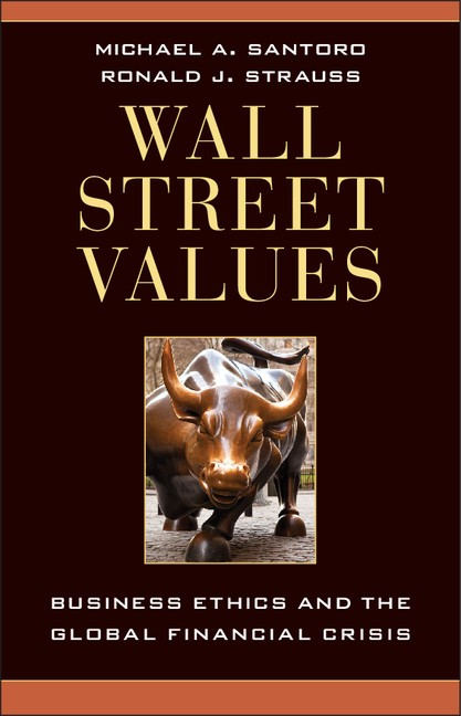 Abbildung von Santoro / Strauss | Wall Street Values | 2012